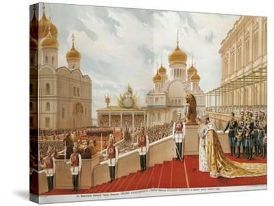French, Paris, Coronation of Czar Nicholas Ii, 1896--Stretched Canvas Print
