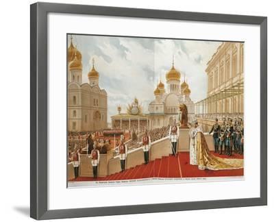 French, Paris, Coronation of Czar Nicholas Ii, 1896--Framed Giclee Print