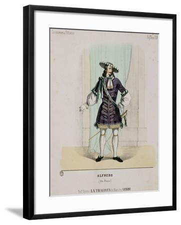 Portrait of Alfredo from the Opera 'La Traviata'--Framed Giclee Print