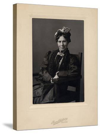 Clara Barton--Stretched Canvas Print