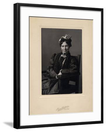 Clara Barton--Framed Photographic Print