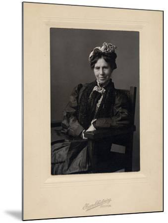 Clara Barton--Mounted Photographic Print