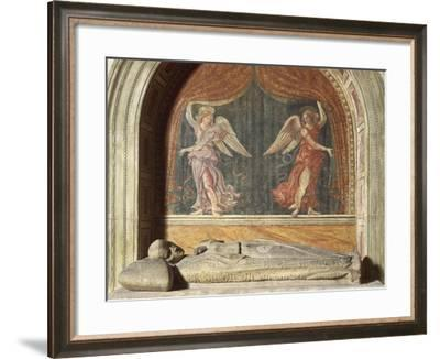 Henry VII of Luxembourg's Funeral Monument, 1313-1315--Framed Giclee Print