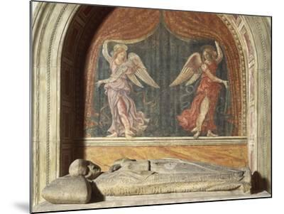 Henry VII of Luxembourg's Funeral Monument, 1313-1315--Mounted Giclee Print