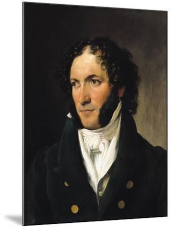Portrait of Ferdinando Paer--Mounted Giclee Print