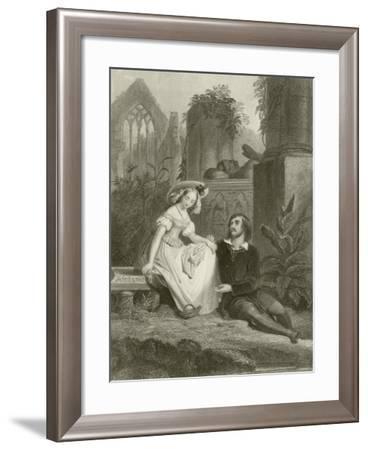 The Broken Vow--Framed Giclee Print