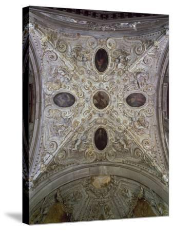 Dome of Chapel of Peace, Basilica Di San Giovanni E Paolo--Stretched Canvas Print