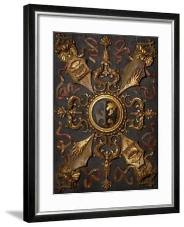 Italy, Emilia-Romagna, Ferrara, Palazzo Schifanoia, Hall of Virtue Decoration--Framed Giclee Print