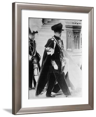 King Manuel II--Framed Photographic Print