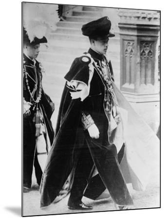 King Manuel II--Mounted Photographic Print