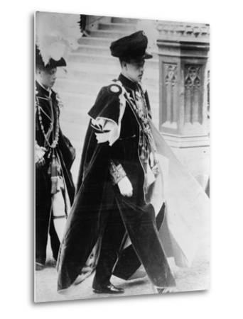 King Manuel II--Metal Print