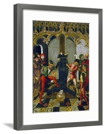Saint Peter's Crucifixion, 1500, Detail from Retable--Framed Giclee Print