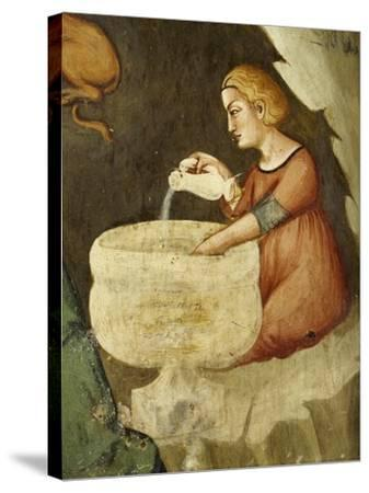 Detail from Nativity--Stretched Canvas Print