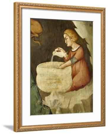 Detail from Nativity--Framed Giclee Print