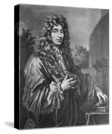 Portrait of Physicist Christiaan Huygens--Stretched Canvas Print