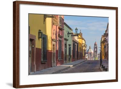 Mexico, San Miguel De Allende. Street Scene-Jaynes Gallery-Framed Photographic Print