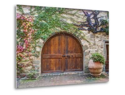 Italy, Tuscany, Chianti Region. This Is the Castello D'Albola Estate-Julie Eggers-Metal Print