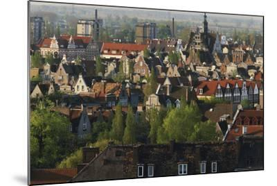 Poland, Pomerania, Gdansk. Town-Walter Bibikow-Mounted Photographic Print