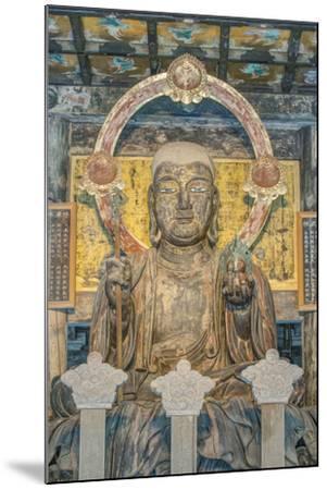 Japan, Kanagawa, Kamakura, Kenchoji Temple Buddha-Rob Tilley-Mounted Photographic Print
