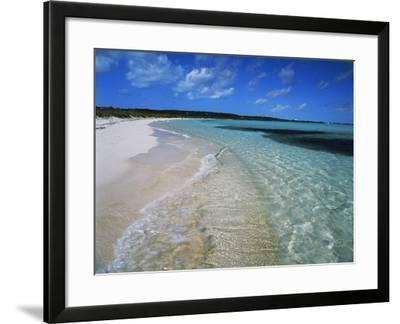 Bahamas. Pristine Beach-Kent Foster-Framed Photographic Print
