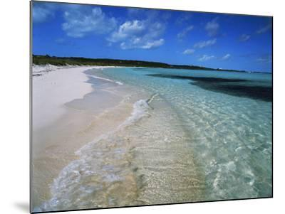 Bahamas. Pristine Beach-Kent Foster-Mounted Photographic Print