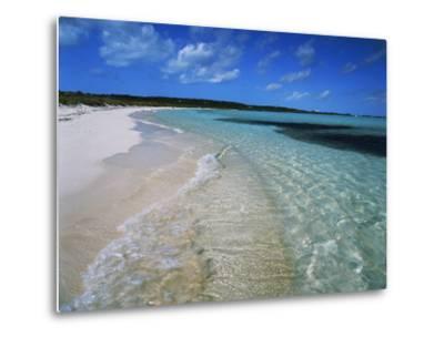 Bahamas. Pristine Beach-Kent Foster-Metal Print