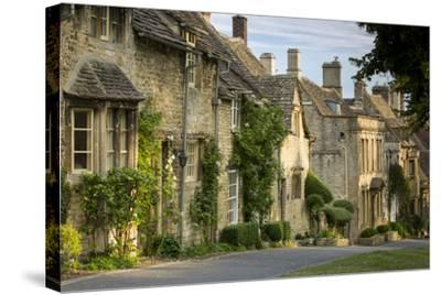 Connected Cottages in Burford, Cotswolds, Oxfordshire, England-Brian Jannsen-Stretched Canvas Print