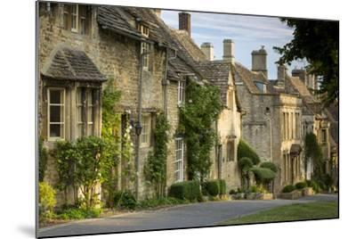 Connected Cottages in Burford, Cotswolds, Oxfordshire, England-Brian Jannsen-Mounted Photographic Print