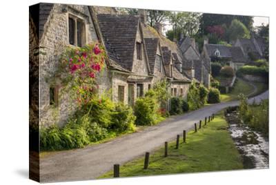 Arlington Row Homes, Bibury, Gloucestershire, England-Brian Jannsen-Stretched Canvas Print