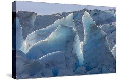 Glacier Grey. Torres Del Paine NP. Chile. UNESCO Biosphere-Tom Norring-Stretched Canvas Print