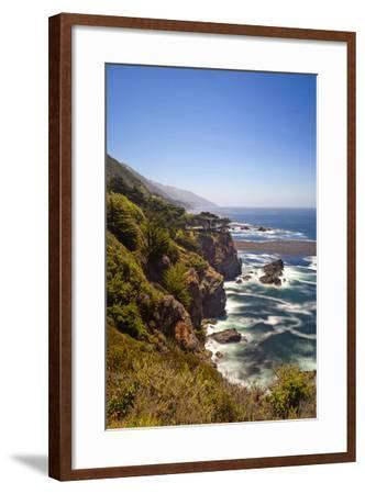 The Big Sur Coastline of California-Andrew Shoemaker-Framed Photographic Print