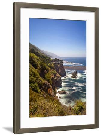 The Big Sur Coastline of California-Andrew Shoemaker-Framed Photographic Print