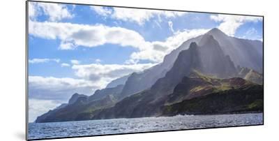 Majestic Na Pali Coastline of Kauai-Andrew Shoemaker-Mounted Photographic Print