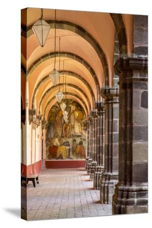 Institute of Art in San Miguel De Allende, Mexico-Chuck Haney-Stretched Canvas Print