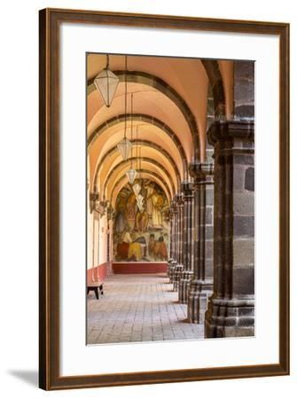 Institute of Art in San Miguel De Allende, Mexico-Chuck Haney-Framed Photographic Print