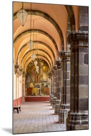 Institute of Art in San Miguel De Allende, Mexico-Chuck Haney-Mounted Photographic Print