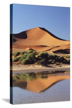 Namibia, Sossusvlei Region, Sand Dunes-Gavriel Jecan-Stretched Canvas Print