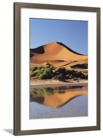 Namibia, Sossusvlei Region, Sand Dunes-Gavriel Jecan-Framed Photographic Print