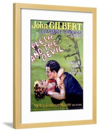 Flesh and the Devil - Movie Poster Reproduction--Framed Art Print