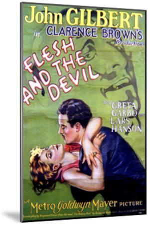 Flesh and the Devil - Movie Poster Reproduction--Mounted Art Print