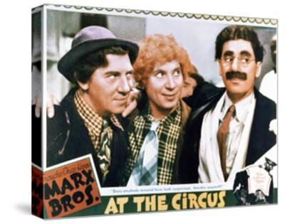 At the Circus - Lobby Card Reproduction--Stretched Canvas Print