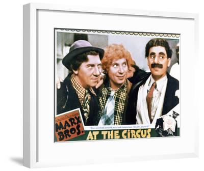 At the Circus - Lobby Card Reproduction--Framed Art Print