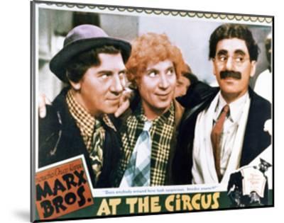 At the Circus - Lobby Card Reproduction--Mounted Art Print