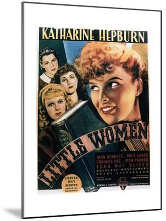 Little Women - Movie Poster Reproduction--Mounted Art Print