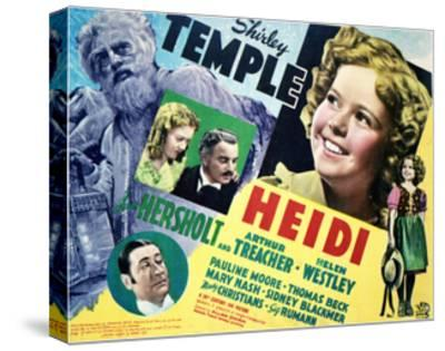 Heidi - Lobby Card Reproduction--Stretched Canvas Print