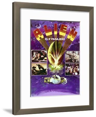 Alien - Movie Poster Reproduction--Framed Art Print