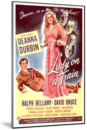 Lady on a Train - Movie Poster Reproduction--Mounted Art Print