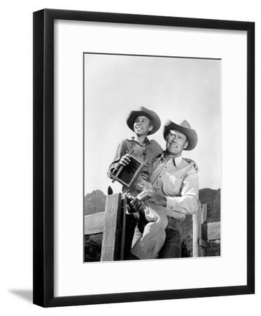 The Rifleman--Framed Photo