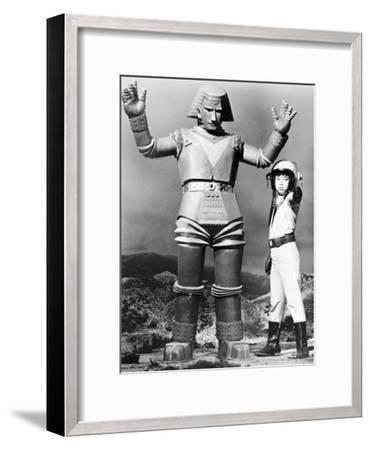 Johnny Sokko and His Flying Robot--Framed Photo
