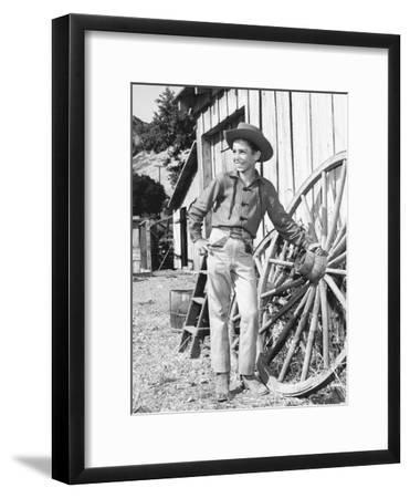 The Rifleman--Framed Photo